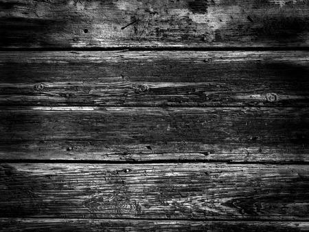 Old Wood Background - BW photo