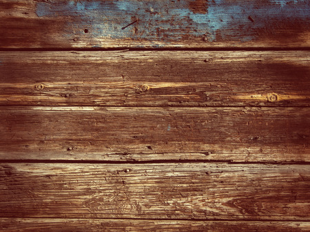 Old Wood Background - Vintage with red and yellow colors  photo
