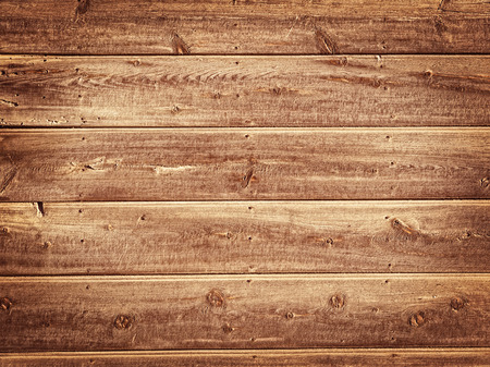 Old Wood Background - Vintage with yellow and brown colors Stock Photo