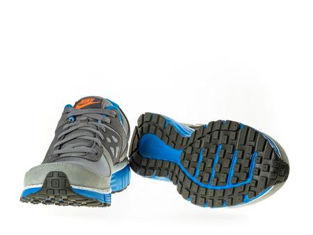 Istanbul, Turkije 5 Februari 2014 Nieuwe Nike Wandelschoen