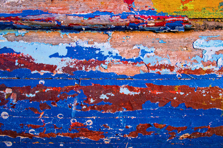 to paint colorful: Peeling Paint Colorful