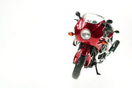 Realistic Toy Motorcycle 1 photo