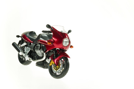 Realistic Toy Motorcycle 2 photo