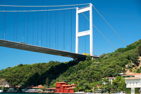Fatih Sultan Mehmed Bridge at Istanbul, Turkey  Stock Photo