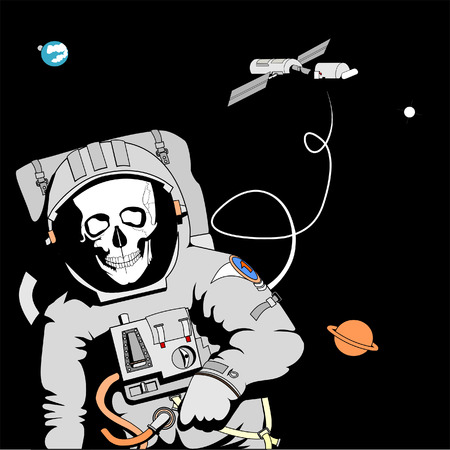 space station: Fatal Error Illustration