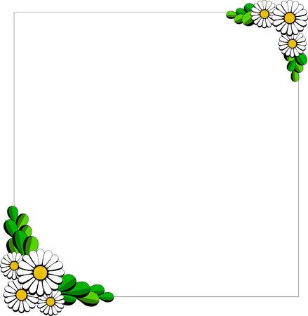 daisy cartoon background
