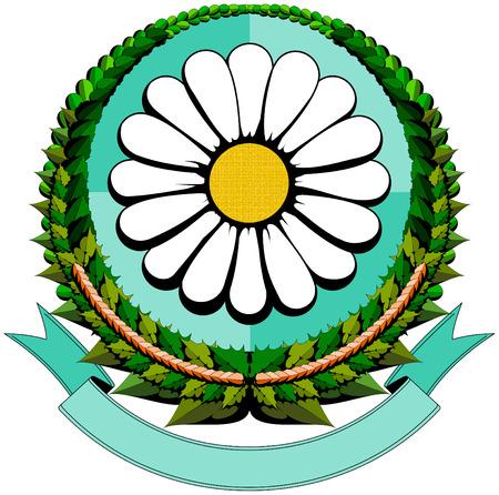 daisy cartoon logo Stock Vector - 7578458