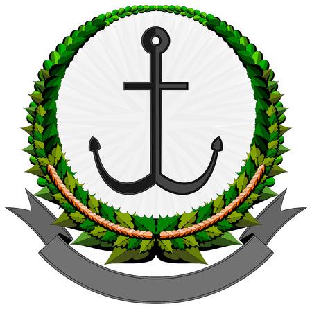 anchor logo Stock Vector - 7615235