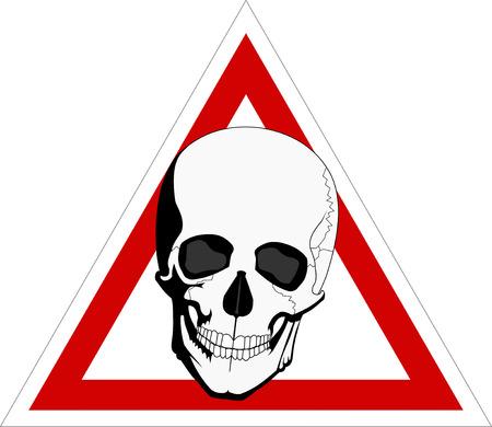 skeleton on board Stock Vector - 8261064