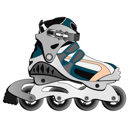 Inline Skate Boot