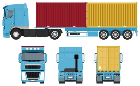 trucking: Container Truck Set