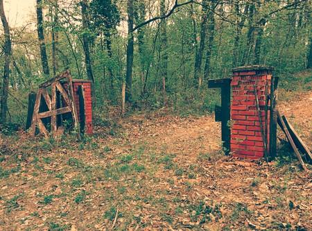 damaged: Damaged old gates