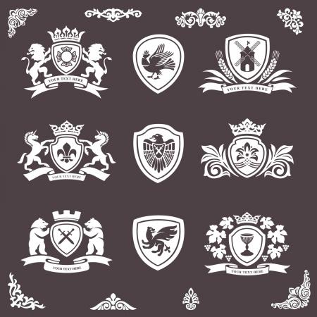 hanedan arması: hanedan elemanları
