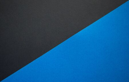 Black and blue background divided diagonally