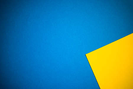 Yellow and blue abstract background, website template, brochure