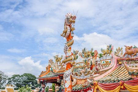 The shrine to the Chinese princess Soi Dok Mak