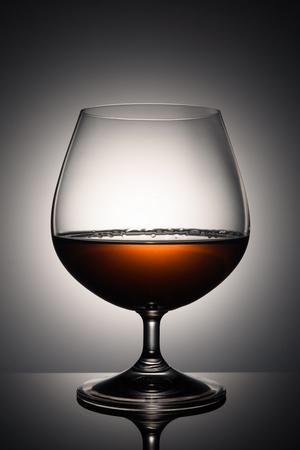 A glass of brandy