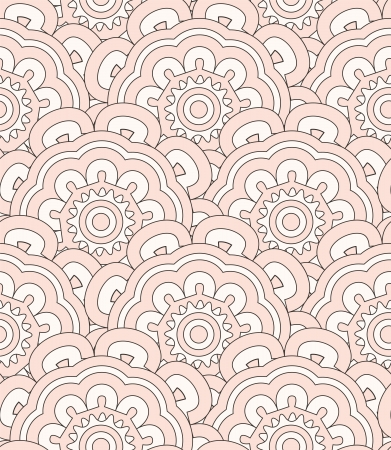 Abstract shell ethnic pattern  Seamless pattern can be used for wallpaper, pattern fills, web page background, surface textures, wrapping paper