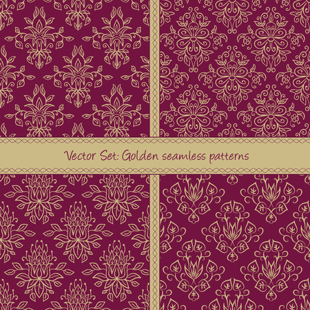 Seamless abstract hand-drawn holiday pattern. Illustration