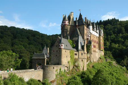 Castle Burg Eltz. Germany Stock Photo