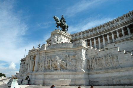 Piazza Venezia, Rome, Italy photo