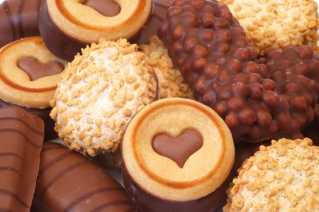 Biscuits background