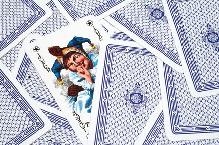 whit: Playing cards whit a joker