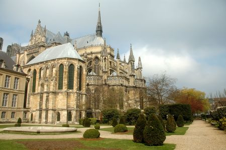 episcopal: Reims Cathedral. France