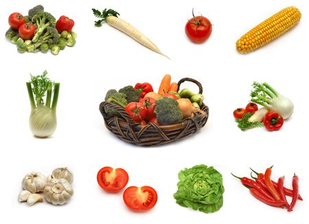 Vegetable collection-2 Stock Photo - 326078