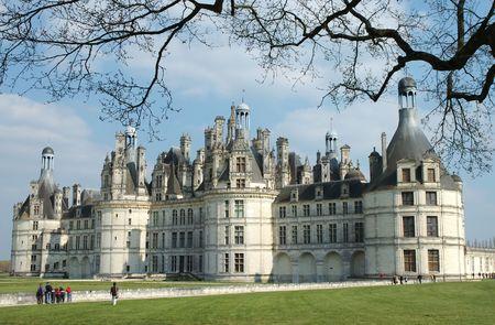 Chambord castle, Loire, France photo