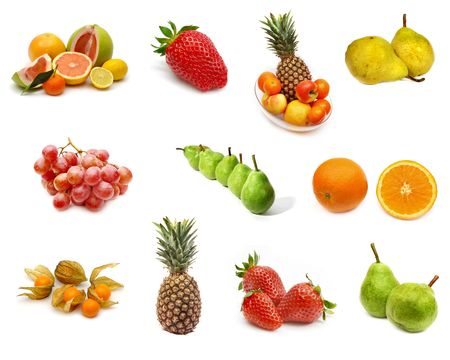 Fruit collection Stock Photo - 352203