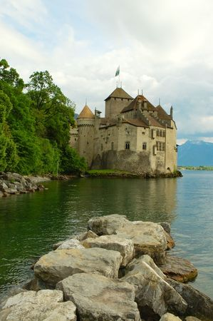 chillon: Chateau de Chillon. Switzerland