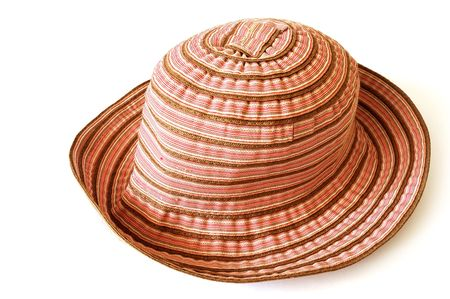 Womans summer hat Stock Photo