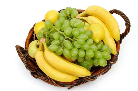 Fruits in the basket Stock Photo - 473900