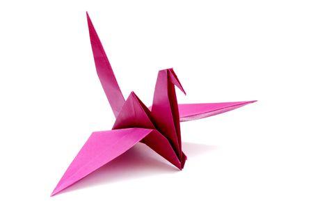 Origami birds photo
