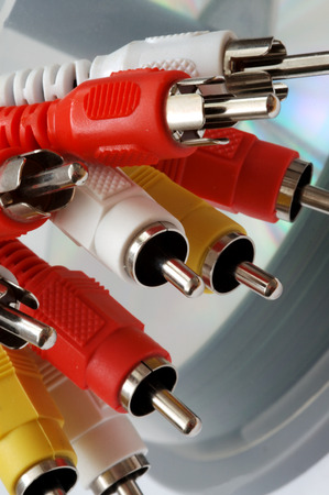 RCA connectors photo