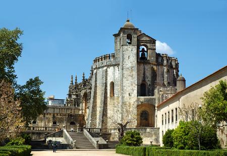 knights templar: Knights Templar castle. Tomar, Portugal
