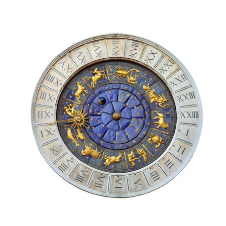 Astronomical clock, Venice Stock Photo