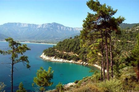 Seaview. Thassos, Greece