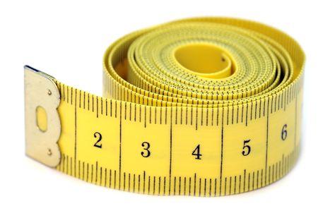 curledup: Measure tape Stock Photo