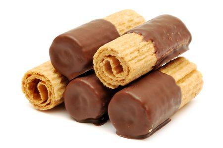 wafer: Cialde di cioccolato