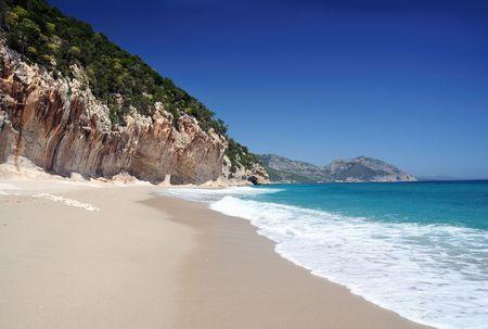 sardinia: Cala Luna beach, Sardinia, Italy Stock Photo