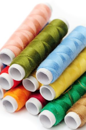 Colorful thread Stock Photo - 3133579