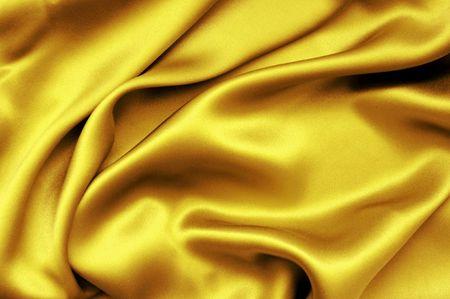 Golden satin background Stock Photo - 3160589