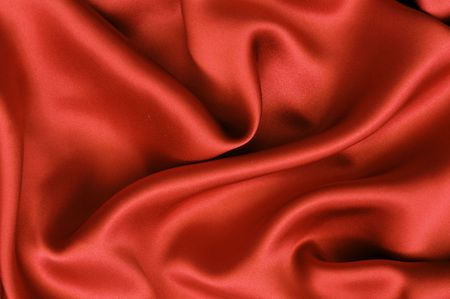 Red satin background photo