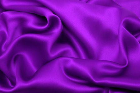 tender tenderness: Purple satin background Stock Photo