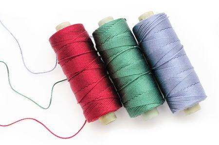 Colorful silk thread Stock Photo - 4449199