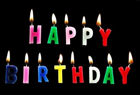 gaiety: Happy birthday Stock Photo