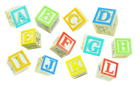 letter blocks: Alphabet (1)