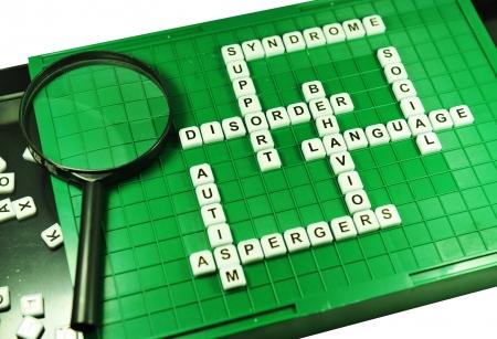 asperger: Autism  Stock Photo